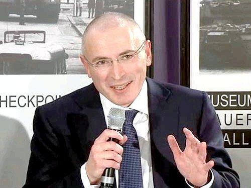 За що звільнять Ходорковського