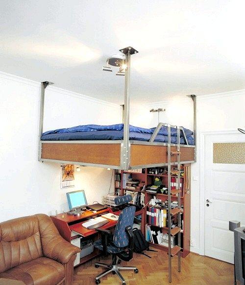 Життя і робота в дуже маленькій квартирі